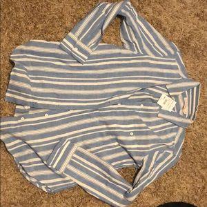 Women's button down collar shirt